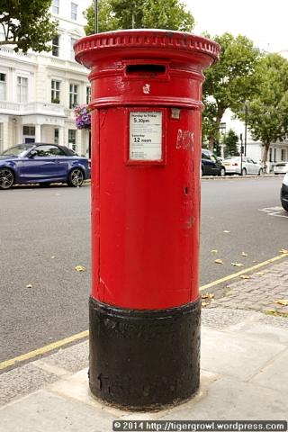 """Anonymous"" Pillar Box"