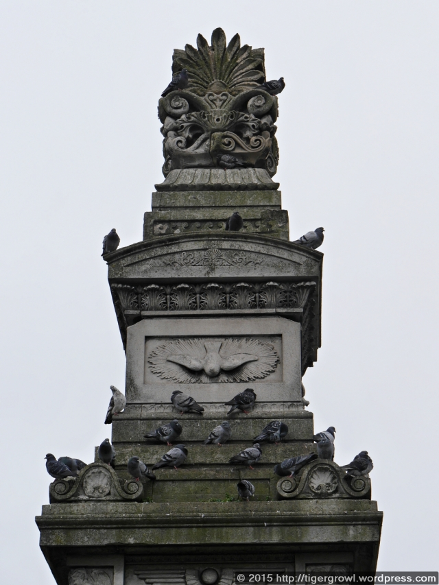 Budd Mausoleum (detail)